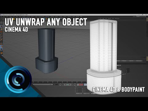 UV Unwrap Any Object In Cinema 4D