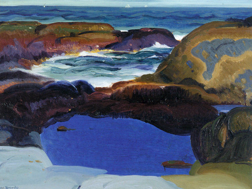 George Bellows; The Blue Pool, 1913