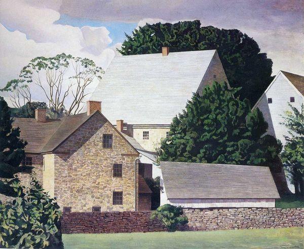 Charles Sheeler; Ephrata, 1934