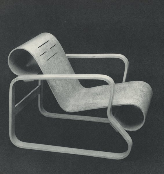 Lounge Chair, ca. 1934.