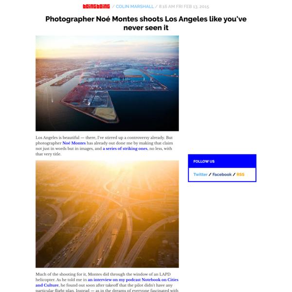 Photographer Noé Montes shoots Los Angeles like you've never seen it