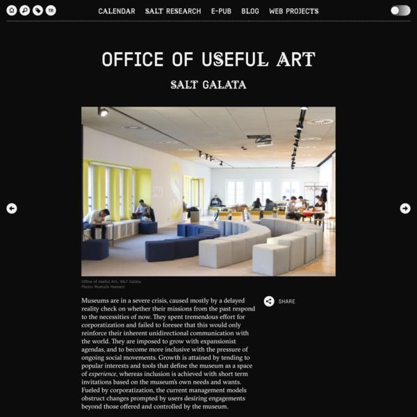 Office of Useful Art