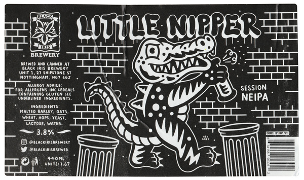 Little Nipper Beer Label
