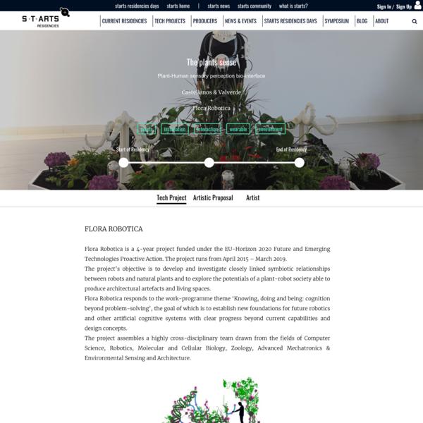 Flora Robotica X Castellanos & Valverde   STARTS