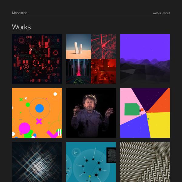 Manoloide - Creative coder