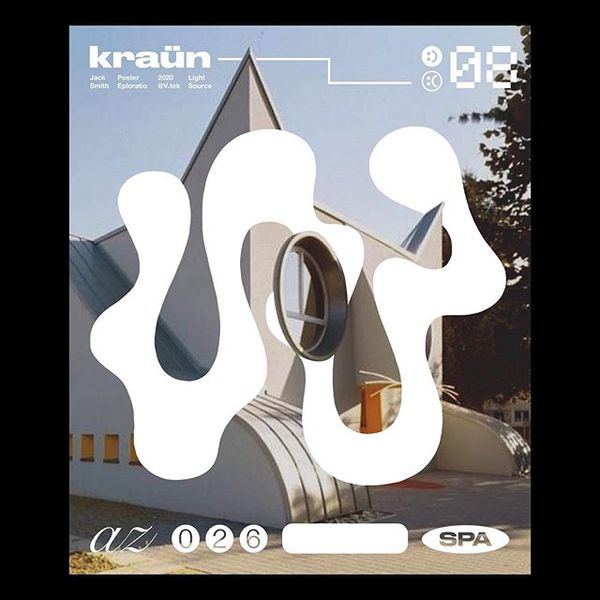 Kraün 🐈 . . . . . #graphicdesign #layout #thedesignblacklist #poster #posterdesign #artwork #contemporary #design #graphicde...