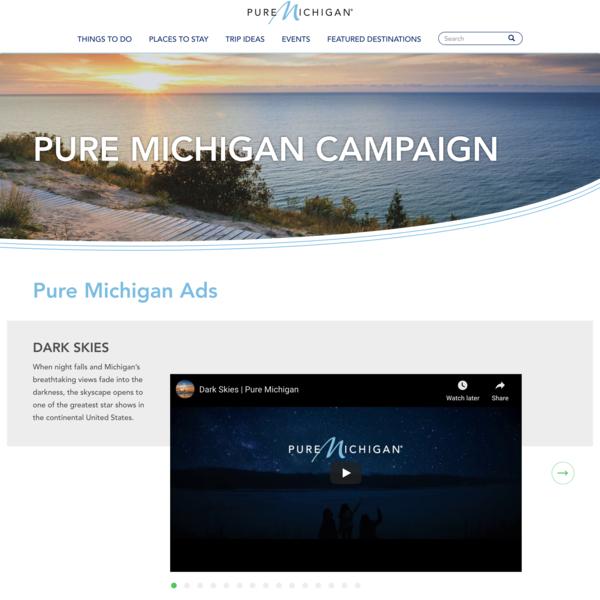 Pure Michigan Ads