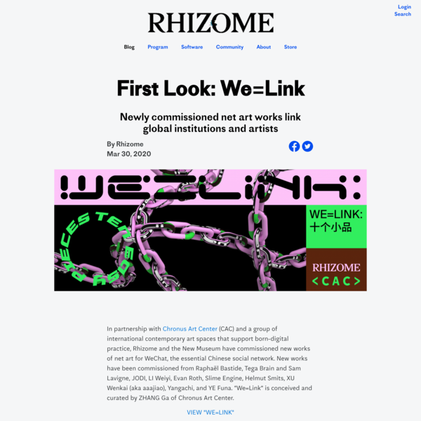 First Look: We=Link