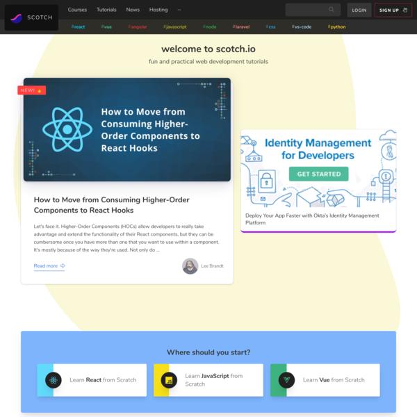 Top Shelf Web Development Training