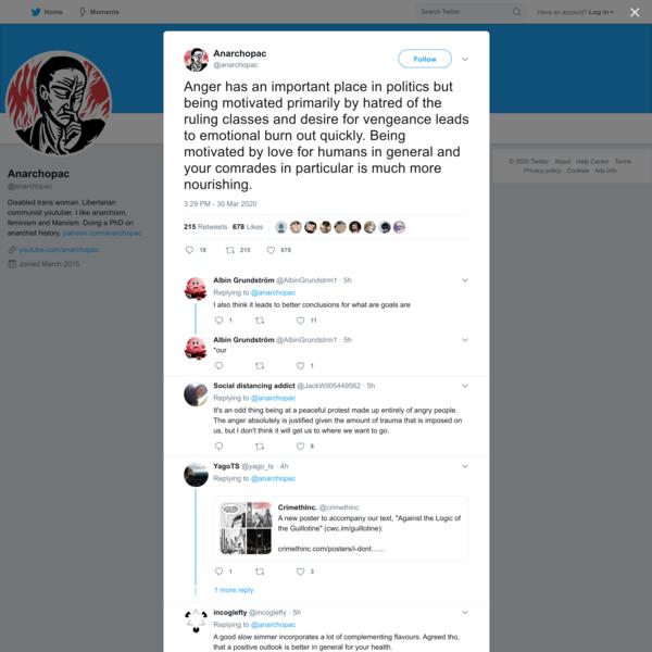 Anarchopac on Twitter