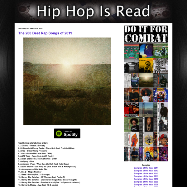 The 200 Best Rap Songs of 2019