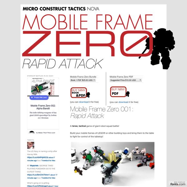 Mobile Frame Zero: Rapid Attack