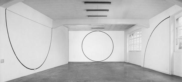Mel Bochner, Degrees (Installation view), 1970