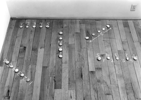 Mel Bochner, Five Sculptures, 1972