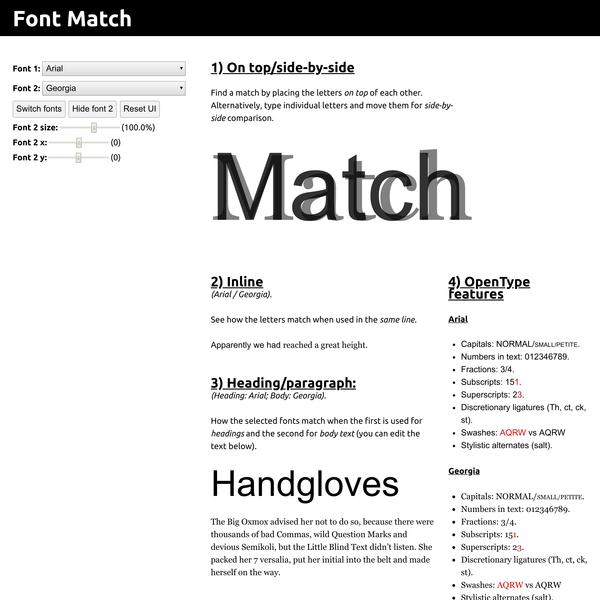 Font Match