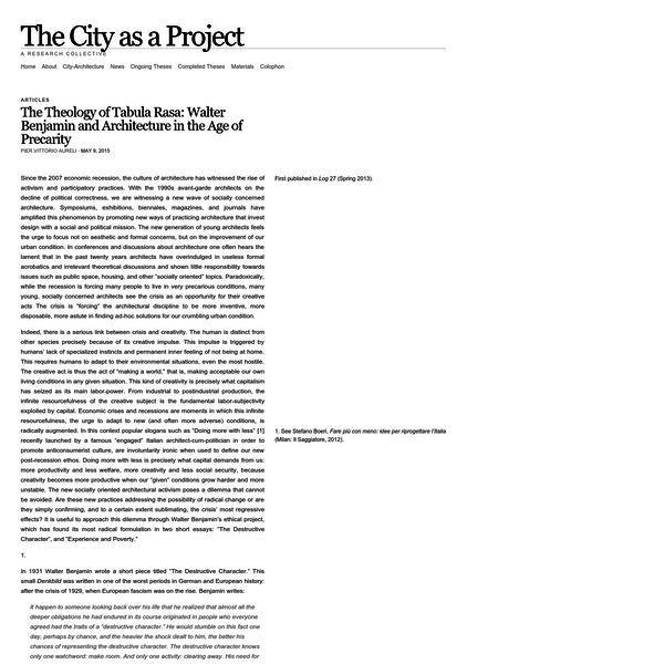 Since the 2007 economic recession,First published in Log 27 (Spring 2013). the culture of architecture has witnessed the rise of activism and participatory practices. With the 1990s avant-garde architects on the decline of political correctness, we are witnessing a new wave of socially concerned architecture.