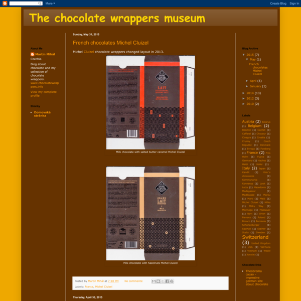 The chocolate wrappers museum