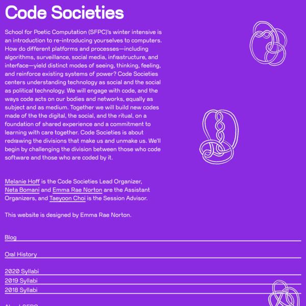 code-societies