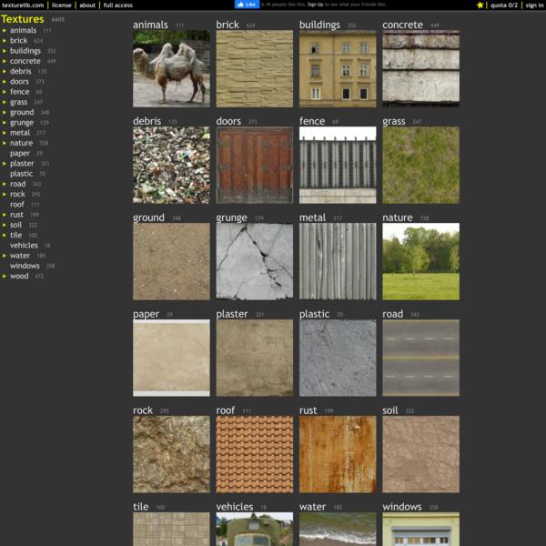 Texturelib - free texture library