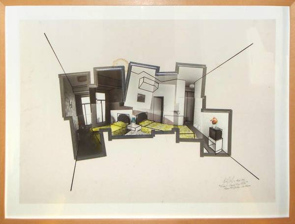 Richard Wilson, Room 6 Channel View Hotel (II), 1996