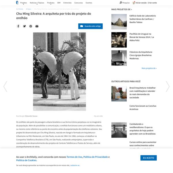 Chu Ming Silveira: A arquiteta por trás do projeto do orelhão