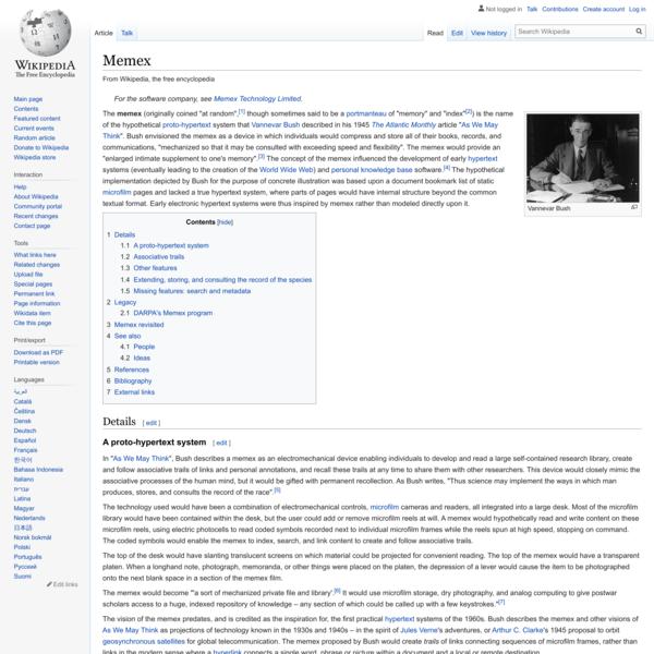 Memex - Wikipedia