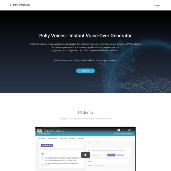 Polly Voices