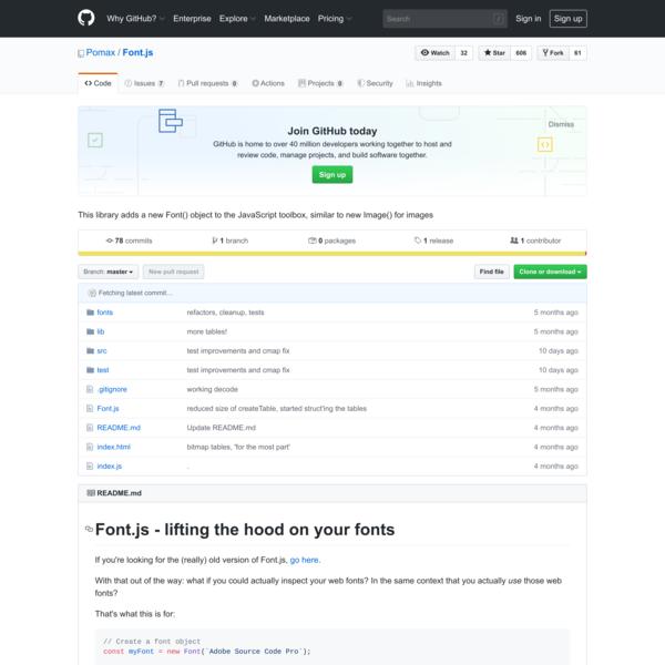 Pomax/Font.js