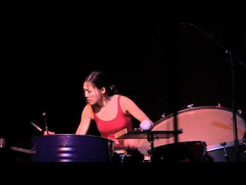 Iannis Xenakis: Psappha for solo percussion, performed by Ying-Hsueh Chen