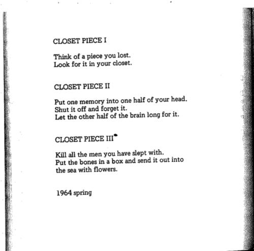 by Yoko Ono