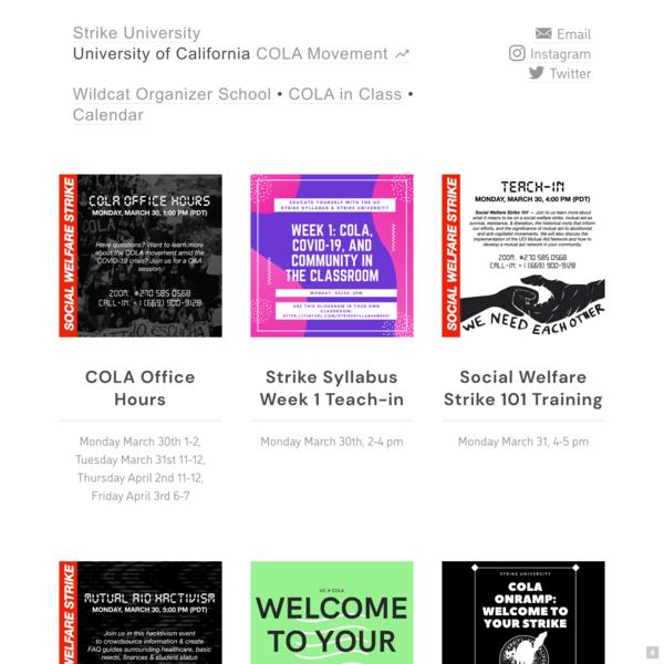 strike university
