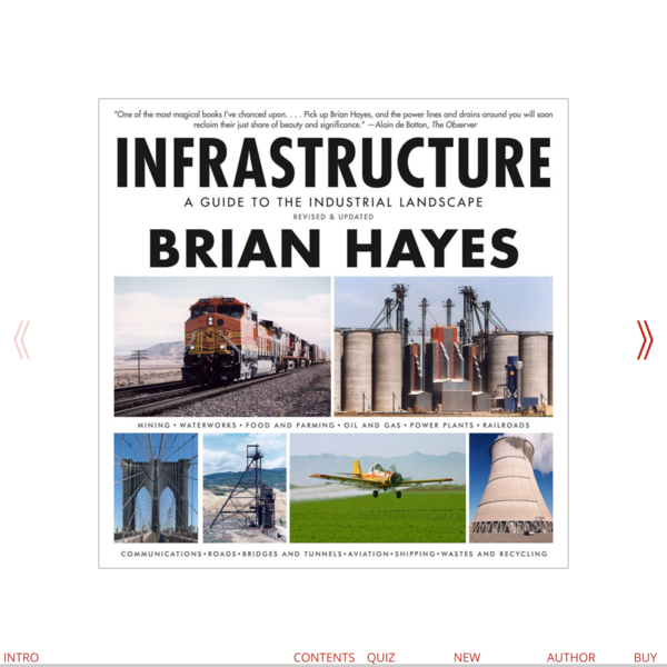 Infrastructure: A Guide to the Industrial Landscape