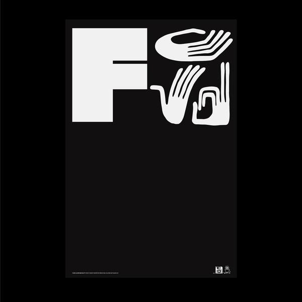 Fuck 12, 24x36 poster | Justin Hunt Sloane