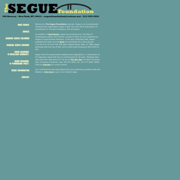 The Segue Foundation