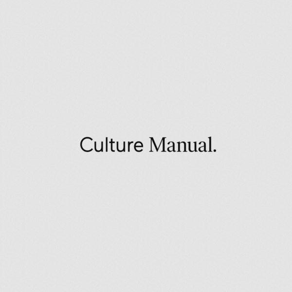 BASIC® | Culture Manual | An Employee Guide to Being More Basic