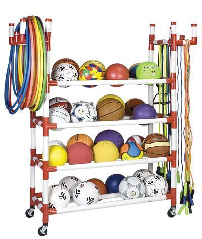 Various Equipment for Physical Education