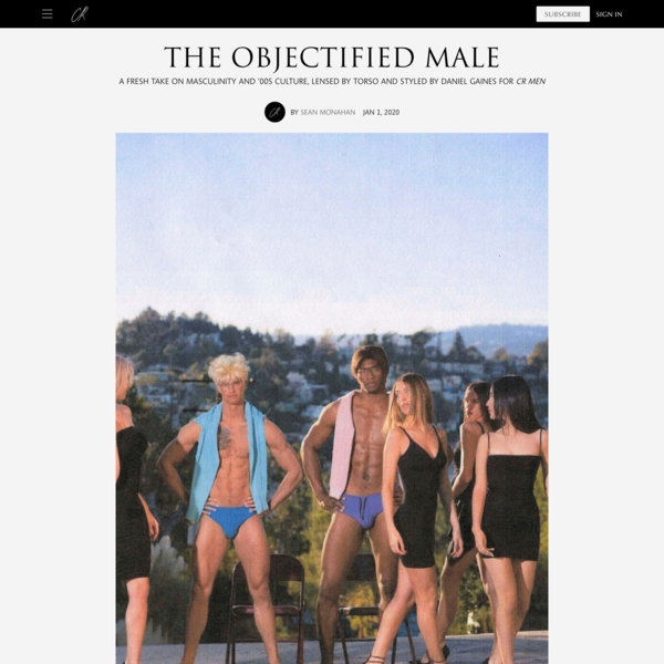 The Objectified Male