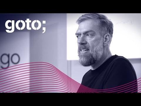 "GOTO 2019 * ""Good Enough"" Architecture * Stefan Tilkov"
