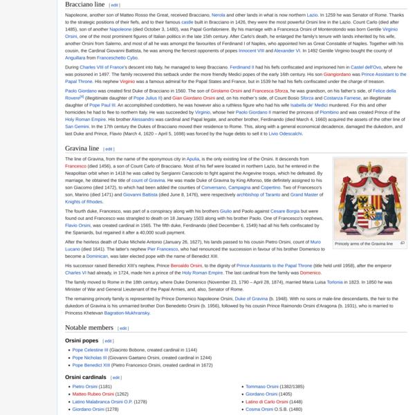 Orsini family - Wikipedia
