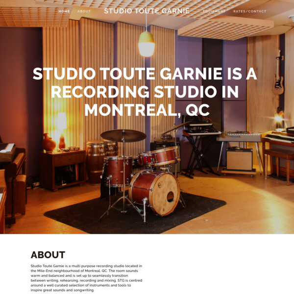Studio Toute Garnie
