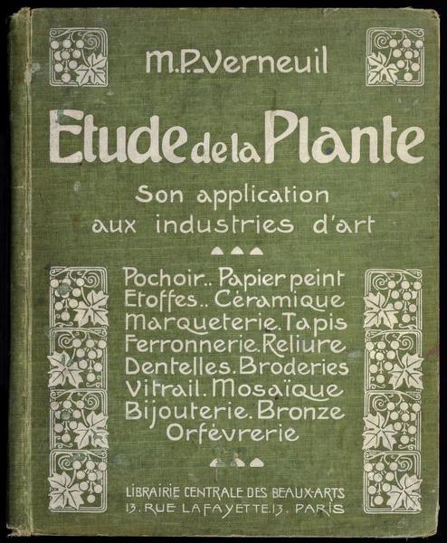Etude de la plante, M.P. Verneuil, 1903