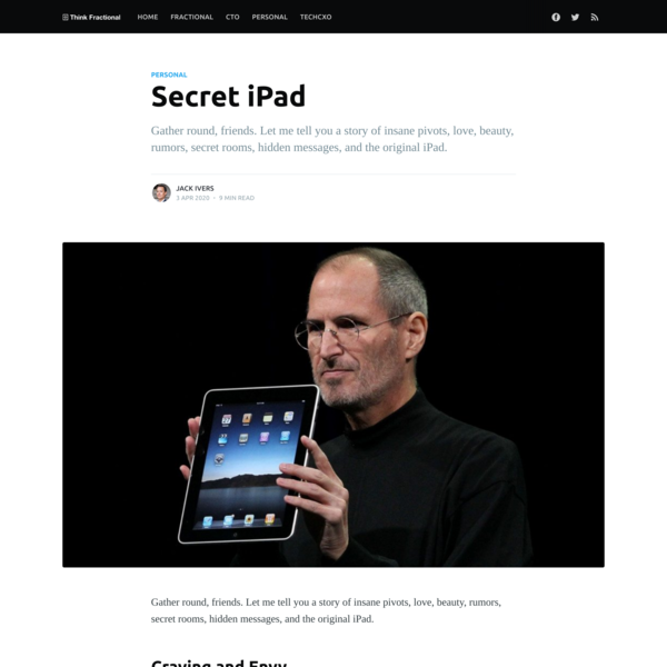 Secret iPad