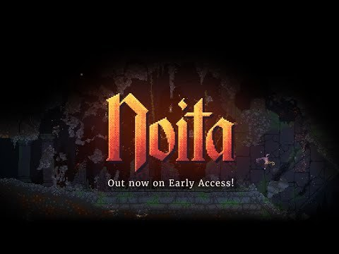 Noita - Early Access Launch Date Trailer (Out Now!) - YouTube
