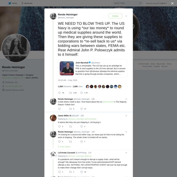 Renée Heininger on Twitter