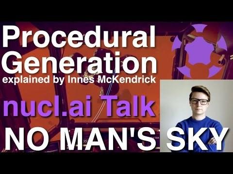 ► No Man's Sky | nucl.ai Presentation: Procedural Generation (June 2015) [English] [HQ]