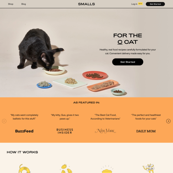 Smalls: Real Food for Cats