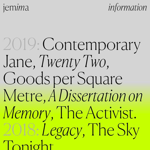 Jemima — Graphic Designer