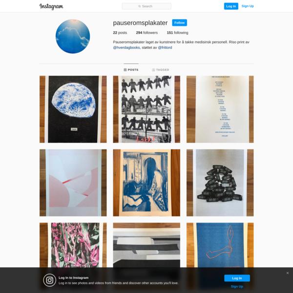 @pauseromsplakater on Instagram • 22 photos and videos
