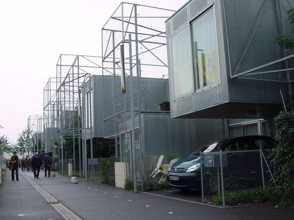 Lacaton Vassal - Passage des Rossignols, Mulhouse