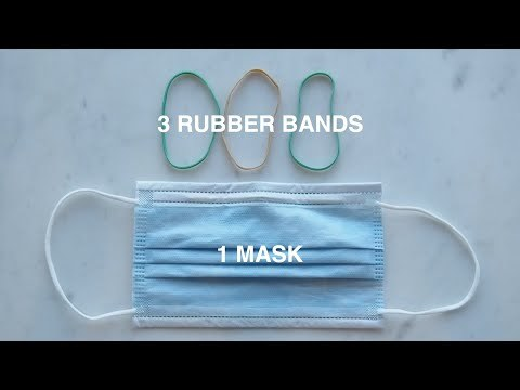 DIY Surgical Mask Brace #FixTheMask